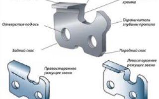 Как правильно подобрать цепь для бензопилы: критерии выбора, параметры