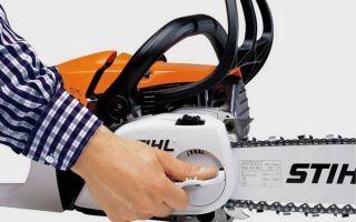 Как правильно натянуть цепь на бензопиле: инструкция, устройства