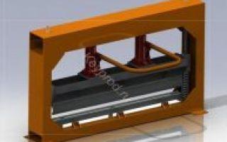 Гидравлические листогибы с чпу: фото, видео, чертежи