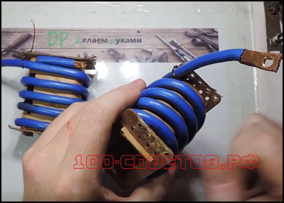 Трансформатор для контактной сварки своими руками
