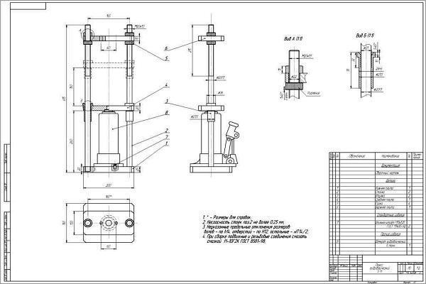 Гидравлический пресс своими руками из домкрата: чертежи, размеры