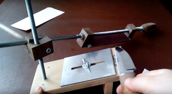 Как собрать точильный станок своими руками для ножей - видео, фото