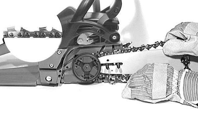 Как правильно поставить цепь на бензопилу: правила, основные трудности