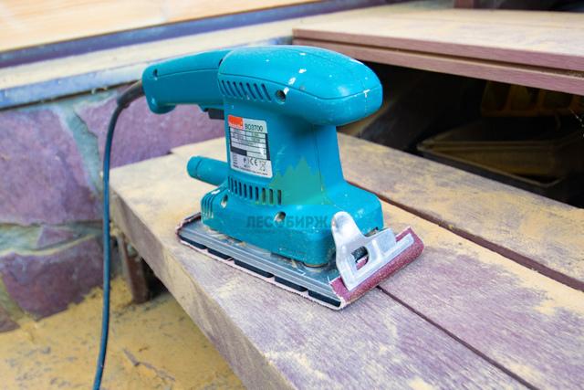 Шлифование дерева: станки, инструмент, технологии
