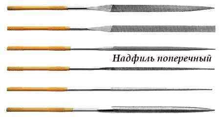 Надфиль: виды, изготовление, применение, выбор