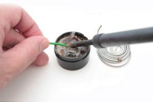 Как припаять без паяльника и припоя: провод, плату, контакты