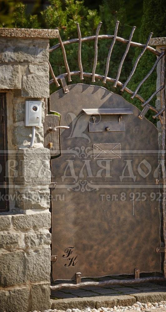 Кованые ворота (50 фото): распашные и откатные