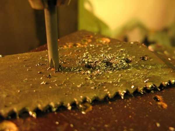 Как просверлить каленую сталь в домашних условиях обычным сверлом