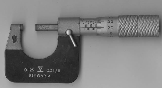 Глубиномер микрометрический: устройство, принцип измерения