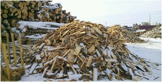 Горбыль: используем отходы производства с пользой: виды, получение, применение, расчет параметров