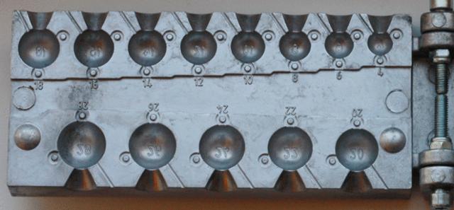 Литье свинца: изготовление формы, литье грузил, станок, тигель