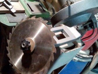 Заточка дисковых пил своими руками: углы, способы, видео, фото