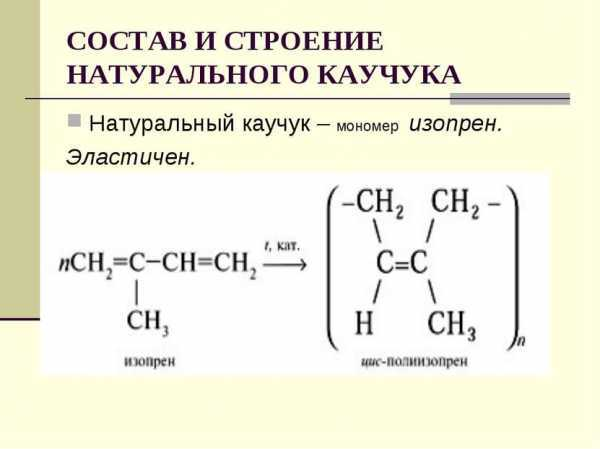 Натуральный каучук: основные свойства, производство, применение