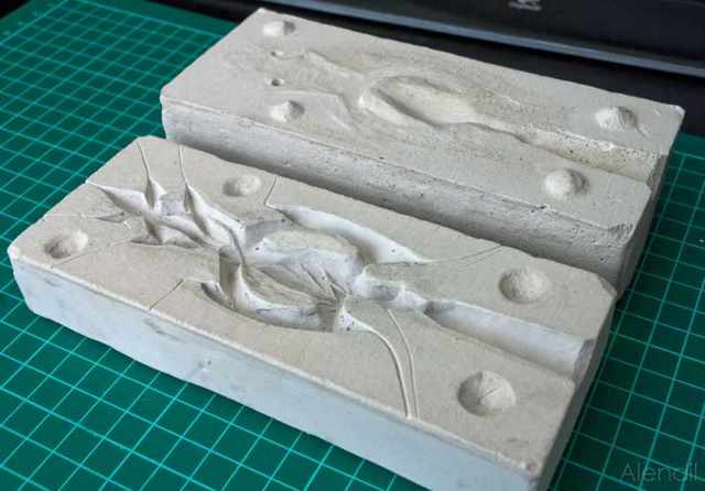 Литье из гипса: технология, силиконовые формы изготовление
