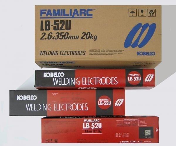 Электроды kobelco lb-52u: характеристики, состав, назначение