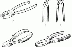 Пассатижи и плоскогубцы: особенности, отличия, виды