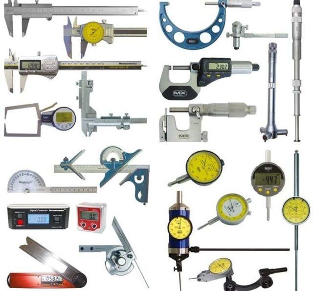 Измерительные инструменты: назначение, контроль, виды, ремонт