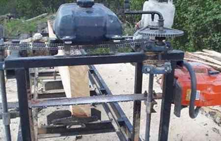 Самоделки из бензопилы своими руками: фото и видео