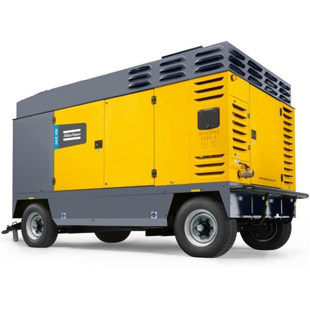 Воздушные дизельные компрессоры передвижные на шасси