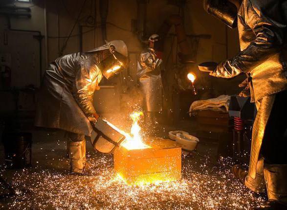 Металлургия черная и цветная: отрасли, продукция, значение