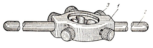 Инструмент для нарезания резьбы: метчики, плашки, клупп, гребенка