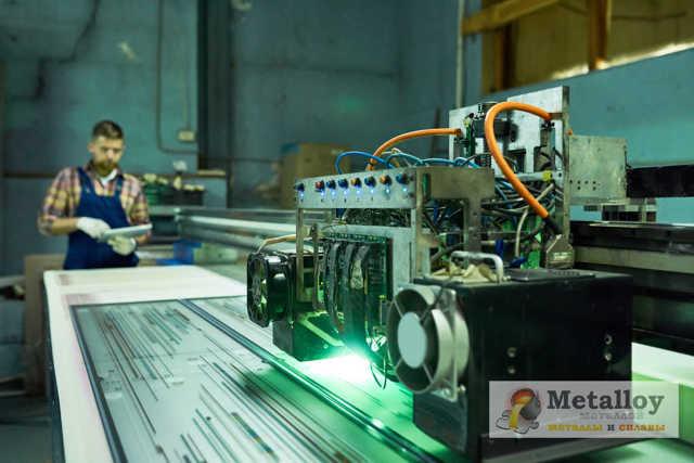 Станки лазерной резки металла: с ЧПУ, видео, фото