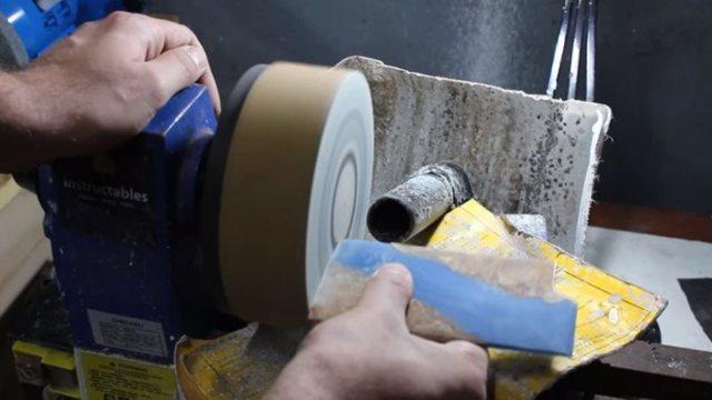 Шлифование и полирование металла, дерева, пластмасс