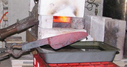 Закалка стали: температура, режимы, технология, твердость стали после закалки