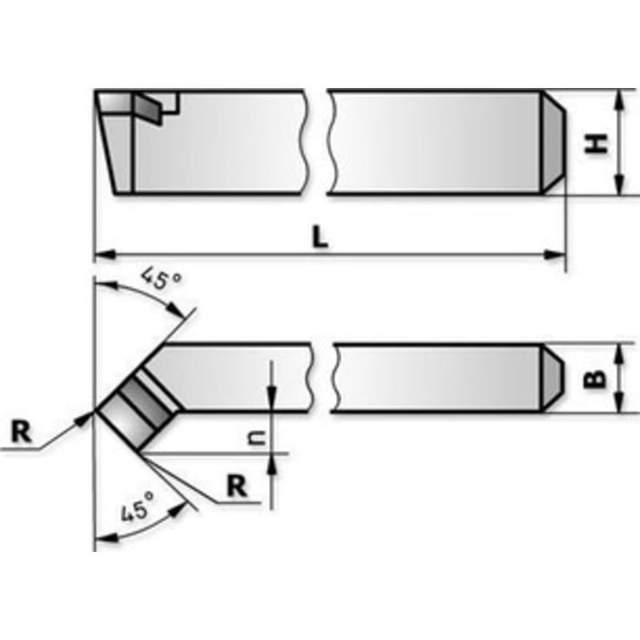 Резец проходной отогнутый: геометрия, выбор, маркировка, назначение