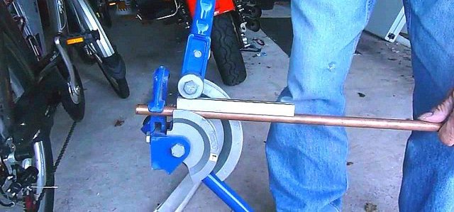 Трубогиб для медных труб: пружинный, рычажный, арбалетный