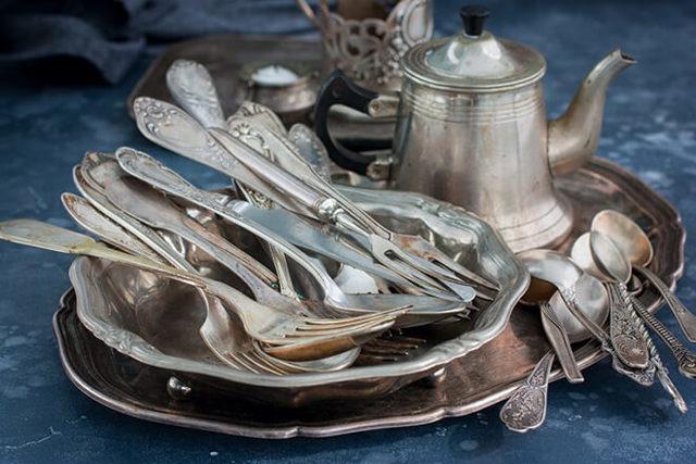 Как почистить мельхиор (ложки, монеты) в домашних условиях от черноты