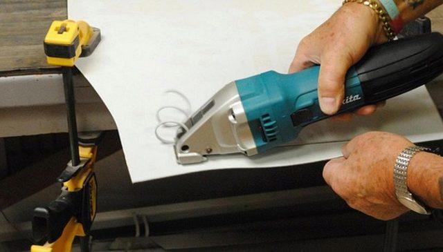 Вырубные (высечные) ножницы по металлу