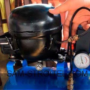 Компрессор из газового баллона своими руками: процесс изготовления