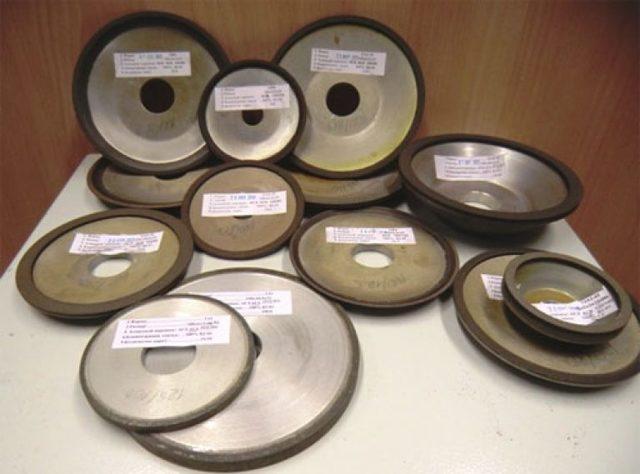 Алмазные круги шлифовальные для заточки инструмента: видео, фото