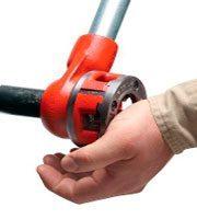 Электрические резьбонарезные клуппы: устройство, видео, фото