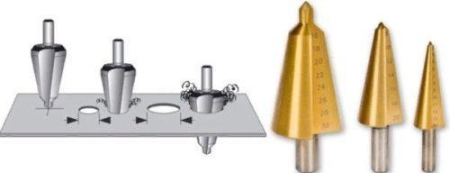 Ступенчатое сверло по металлу hss: достоинства, недостатки, применение