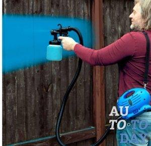 Краскопульт своими руками для покраски в домашних условиях
