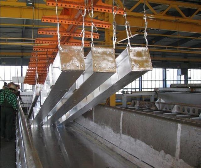 Горячее цинкование металла: технология и метод по ГОСТ