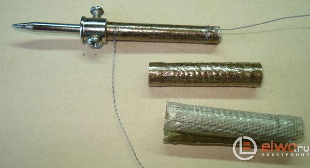 Устройство паяльника в разрезе: схема, принцип работы
