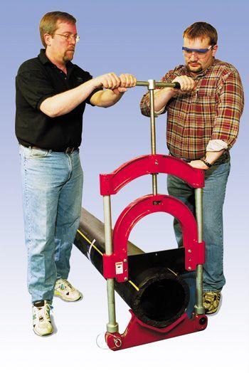 Труборезы для полипропиленовых труб: роликовые, гильотинные, аккумуляторные