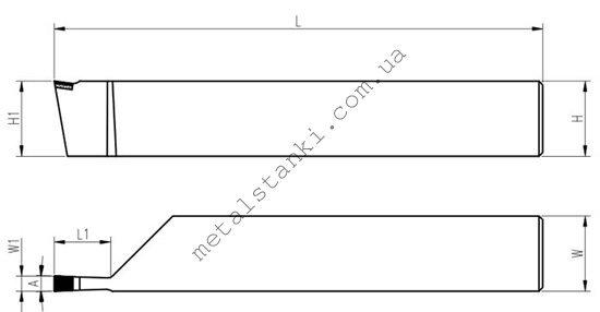 Резец канавочный токарный: виды, размеры, материал, классификация