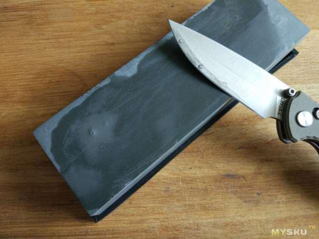 Камни для заточки ножей: виды, правила заточки, зернистость