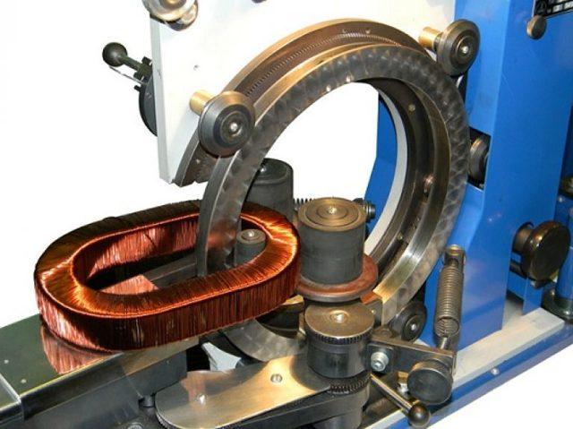 Намоточный станок для трансформаторов, катушек
