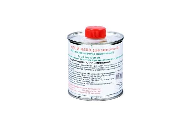 Клей для резины: водостойкий, быстросохнущий, жидкий, эластичный