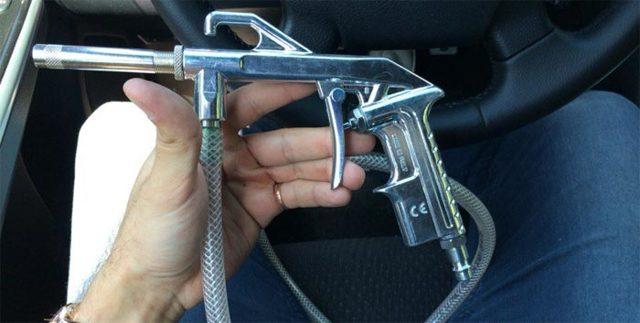 Пескоструйный пистолет для компрессора: как работает, выбор, устройство