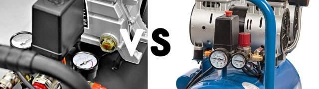 Какой компрессор лучше: масляный или безмасляный
