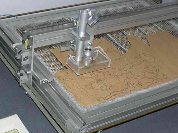 Лазерная резка фанеры: чертежи, фото, видео