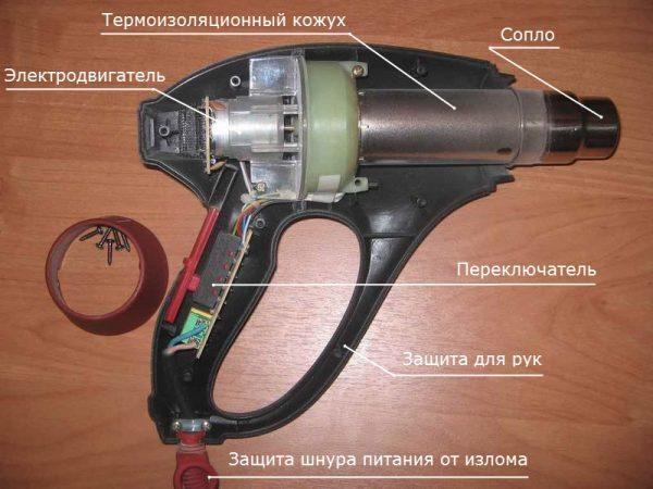 Как сделать строительный фен своими руками: инструкция