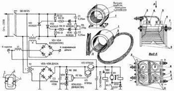 Сварочный полуавтомат своими руками: описание, чертежи, схемы