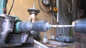 Сверление, растачивание, рассверливание на токарных станках - видео